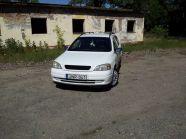 Opel Astra G jel nélküli hűtőrács és Króm t
