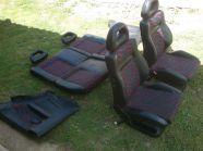 Seat Ibiza Cupra félbőr komplett belső