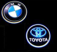 1-1pár BMW/Toyota Projektoros márkajelzések