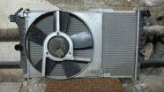 Opel C20XE vízhűtő ventilátorral