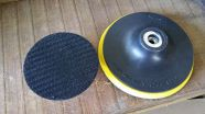 Polírózó talp, tépőzáras 75 mm (3