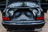 BMW E36 beépítés