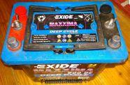 Exide Maxxima 900 DC Deep Cycle akkumulátor, akksi