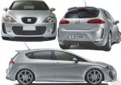 Seat leon MONSTER kit-et keresek