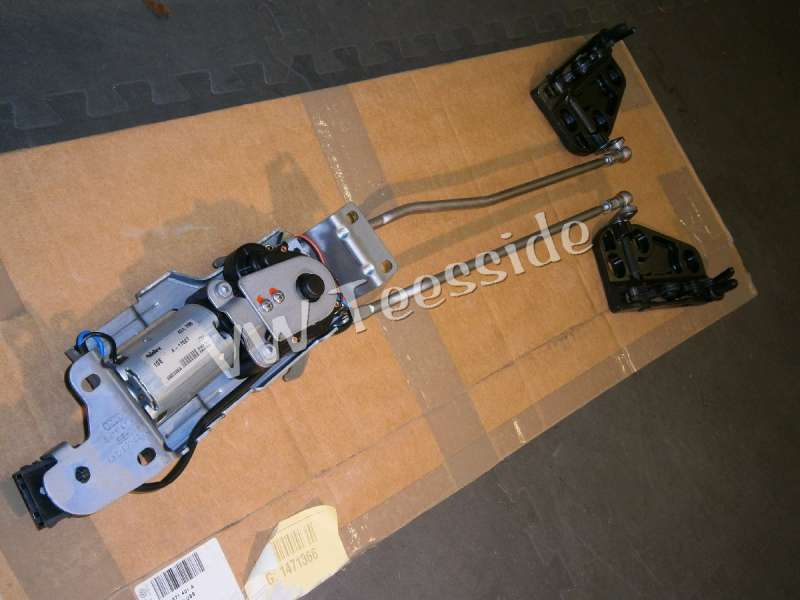 Audi A4/RS4 cabrio tető motor