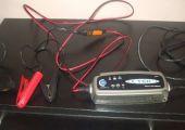 Ctek intelligens akkumulátor töltő, csepptöltő