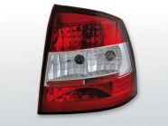 G Astra TuningTec 3/5 ajtós piros fehér hátsó lámpa párban eladó