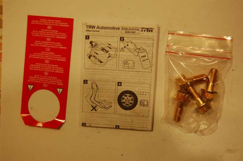 TRW (GDB496) fékbetét tárcsafékhez Honda Civic, Rover, MG típusokhoz