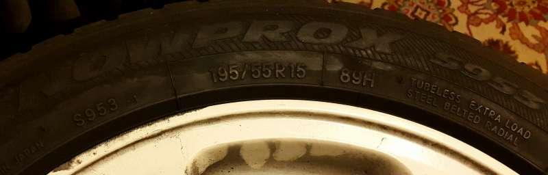 4db Toyo Snowprox s953 195/55/r15 téli gumi