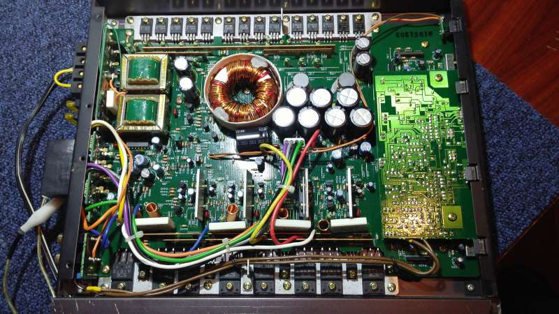 Philips-22 DAP 600/30 MK II-autó erősítő