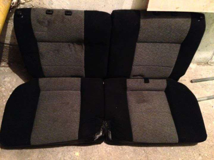 Mitsubishi (tojás) Colt Gti ülés garnitúra