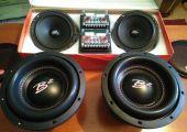 B2 Audio komponens szett , mélynyomó