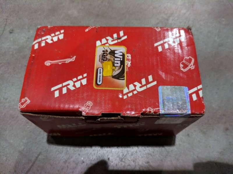 TRW hátsó fékbetét és féktárcsa szettben jó áron eladó - AUDI-SEAT-SKODA-VW