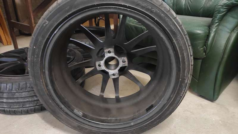 Alutec Monst Racing Black 4x108 7.5J ET18 65,1mm 3darab