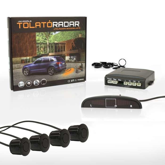 Golden Eye 2616 LED tolatóradar  (4 db fekete színű szenzorral)