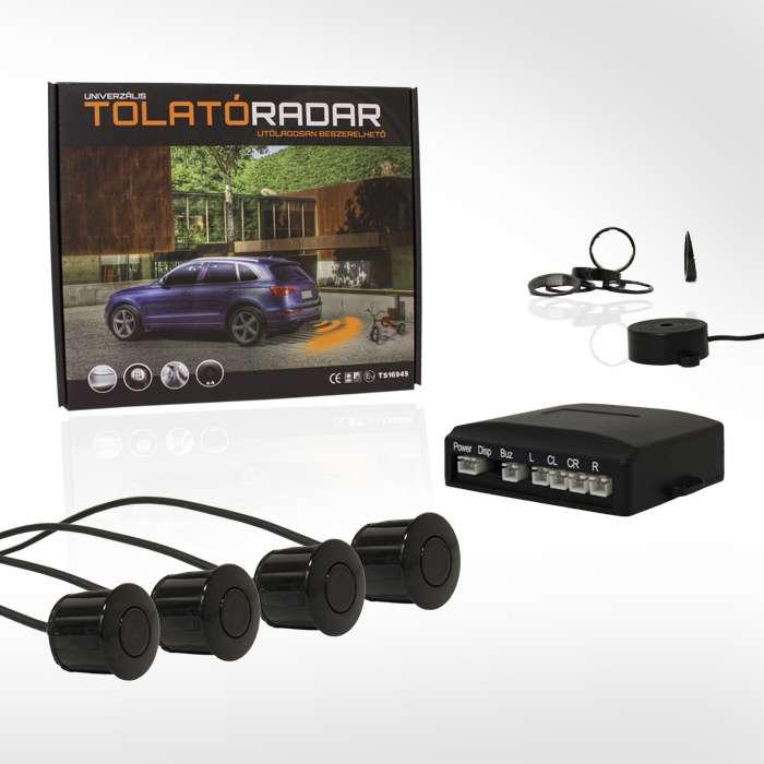 Golden Eye 2605 hangszórós tolatóradar (4 db fekete szenzorral)