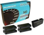 BLINDER M47 X-TREME professzionális multifunkciós lézerblokkoló (4 blokkolófejes, parkolósegéd funk