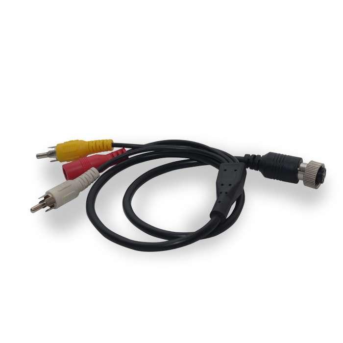 ABM 4pin - RCA átalakító kábel 7 colos monitorhoz