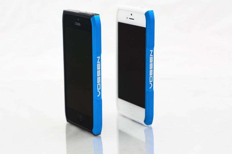 VOSSEN iPhone 5 keret - kék
