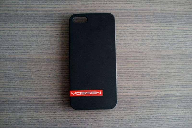 VOSSEN iPhone 5 tok - fekete