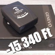 Genevo One GPS Detektor radarérzékeléssel