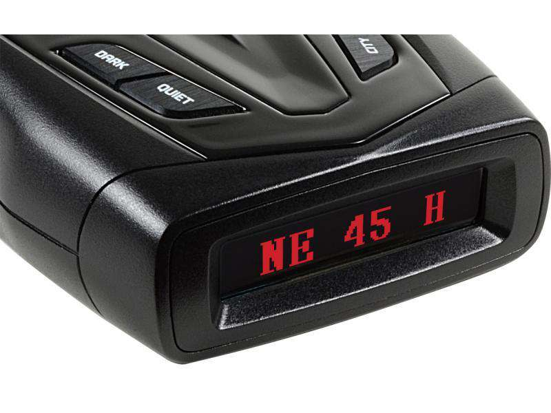Whistler GT-438 G - GPS technológiájú radar- és lézerdetektor