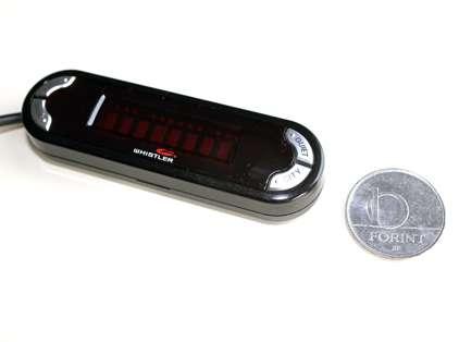 Whistler Pro3600 beépített GPS-technológiájú radar/lézerdetektor