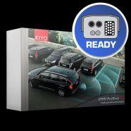 KIYO ProPark3 XT multifunkciós lézeres eszköz parkolósegéd funkcióval, 3 db ultravékony külső érzéke