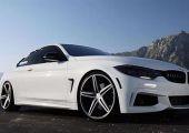 Kaliforniai szerelem: Remek kiállású negyedik szériás BMW M-Sport kupé a VOSSEN ötágú 20 colos CV5 garnitúrájával.