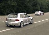 Csak egy szép Volkswagen Golf MK4, 673 lóerővel.