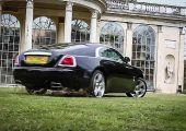 Szépen szánt a V12-es: csapatás és drift egy gyönyörű kertben, Rolls Royce-szal!