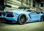 Láttál már widebody Lamborghini Aventadort... airride futóművel?! Légy üdvözölve Japánban!