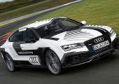 Itt a videó: így írt történelmet az önvezető Audi RS7 a Hockenheimringen.