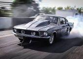 Ez aztán ikerturbó a javából: így hasít egy gyorsulásra épített 1967-es Eleanor Mustang 2.500 lóerővel.