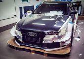Durván DTM-esíti Audi RS6-osát a svéd sílegenda - indokolt lesz ennyi spoiler a havas utakra?