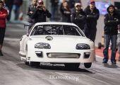 6.003 másodperc!! A világ leggyorsabb Toyota Suprája hihetetlen kicsivel az öt másodperces idő felett!