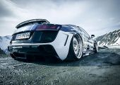 Minden évben van a Wörthin néhány autó, amire biztosan mindenki emlékezni fog. Ez az Audi R8 minden kétséget kizáróan közülük való!