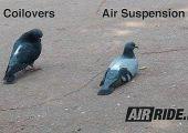 Mai zsibbasztó: Airride vs. állítható futómű, egyetlen képen.