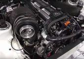 Így néz ki, amikor egy 1.290 lóerős Toyota Suprát mérnek tesztpadon.