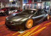 Airride-os BMW i8-ast, Rotiform görgőkre ültetve láttál-e már?