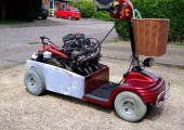 Ha nagyfater benzinvérű, akkor ideális lehet egy ilyen, Honda motoros