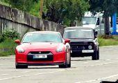 Lada Niva vs. Nissan GT-R. Na, lesz meglepetés?