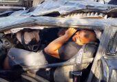 Ilyen túlélni egy borulást, 314 km/órás tempónál