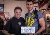 Chip Foose saját rendszámot dedikált nekünk a SEMA Show-n - ezt pedig most jól kisorsoljuk!
