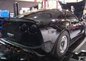 1250 lóerős Corvette a mérőpadon!