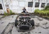 DeathKart: Nissan SX, Toyota szívvel és elmebeteg külsővel.