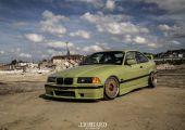 Egyszerű és letisztult: E36 M-es cuccokkal VW zöld színben