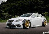 Demoautó japán módra: Forzato Lexus IS