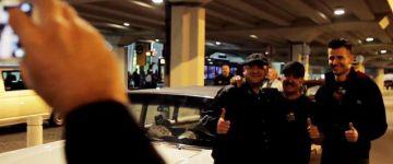 Egy kis meglepetéssel vártuk a reptéren az AMTS első amerikai sztárvendégét, John D'Agostino-t!
