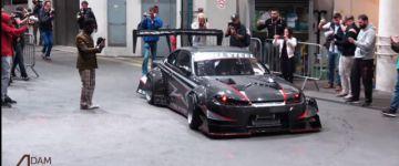A Brill Steel elmebeteg Nissanja felfordulást okozott Monaco utcáin!
